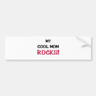 My Cool Mom Rocks Bumper Sticker