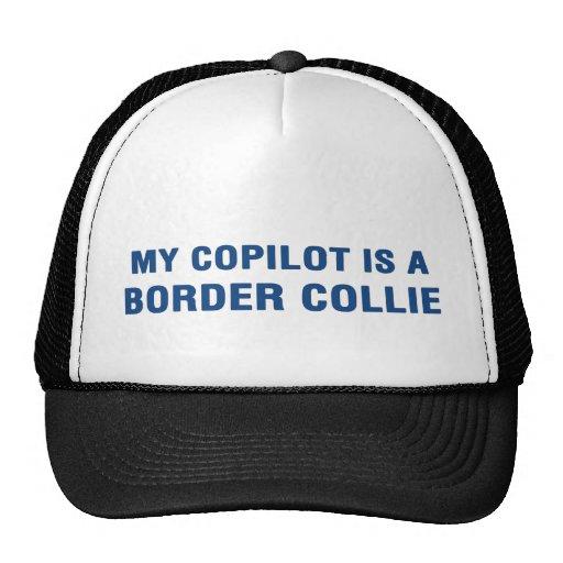 My copilot is a Border Collie Mesh Hats