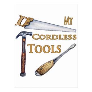 My Cordless Tools Postcard