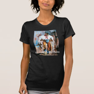 d0c0a88ef MY CORRAL, MY RULES COWGIRL ATTITUDE TEE