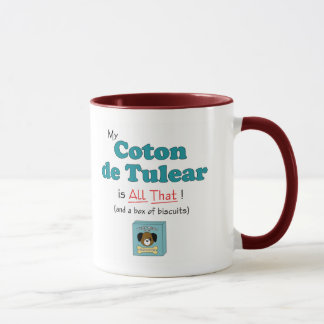 My Coton de Tulear is All That! Mug