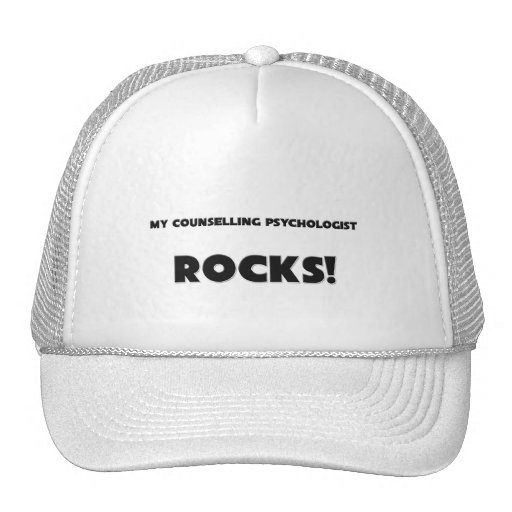 MY Counselling Psychologist ROCKS! Mesh Hat