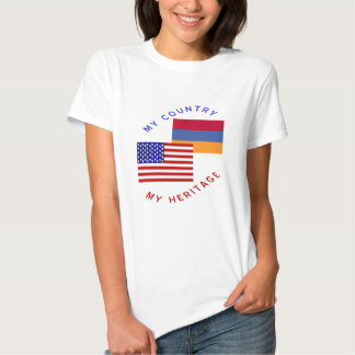 My Country My Armenian Heritage T-shirt