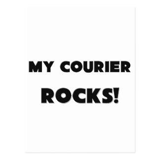 MY Courier ROCKS! Postcard