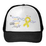 My Cousin An Angel - Bladder Cancer Trucker Hats