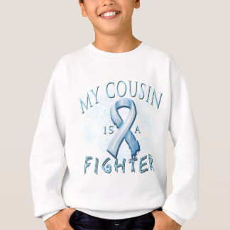 My Cousin is a Fighter Light Blue Sweatshirt