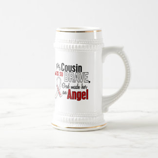 My Cousin Is An Angel Lung Cancer Coffee Mugs