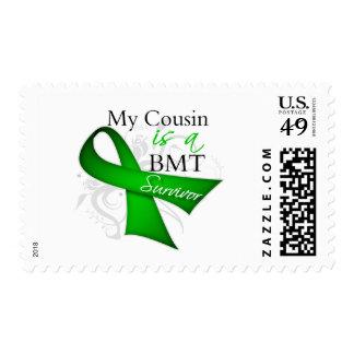 My Cousin is Bone Marrow Transplant Survivor Stamps