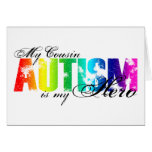 My Cousin My Hero - Autism Greeting Card