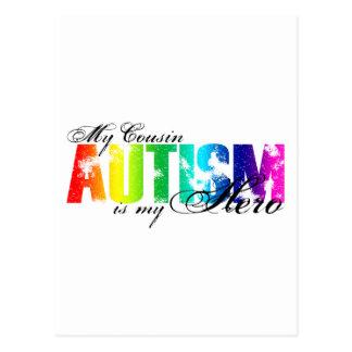My Cousin My Hero - Autism Postcard