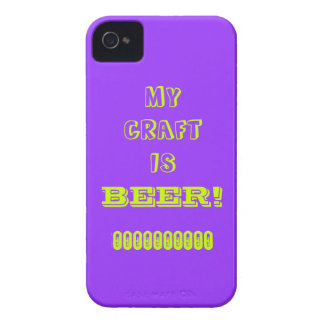 My Craft is Beer! Case-Mate iPhone 4 Case
