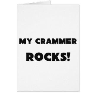 MY Crammer ROCKS! Greeting Cards