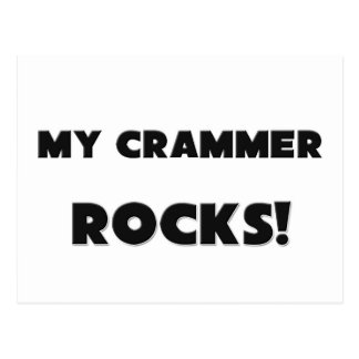MY Crammer ROCKS! Post Cards