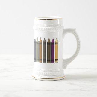 My Crayons 18 Oz Beer Stein