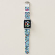 My crazy owl pet apple watch band