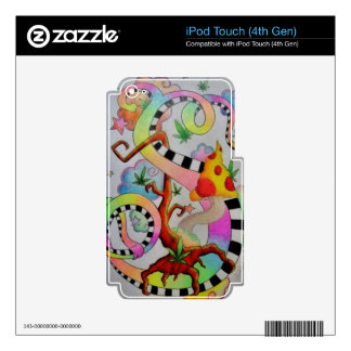 MY Creative Flow iPod Touch 4G Skin