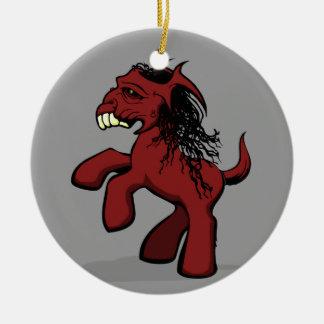My Creepy Little Pony Ornaments