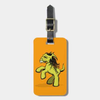 My Creepy Little Pony (Yellow) Bag Tag