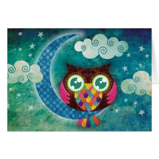 My Crescent Owl card