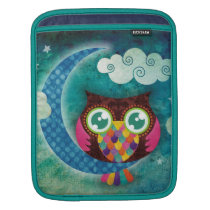 My Crescent Owl iPad Sleeve