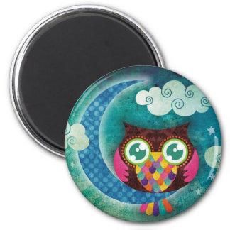 My Crescent Owl Refrigerator Magnets