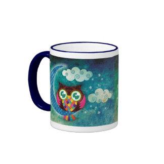 My Crescent Owl Mug