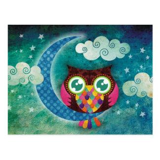 My Crescent Owl Postcards