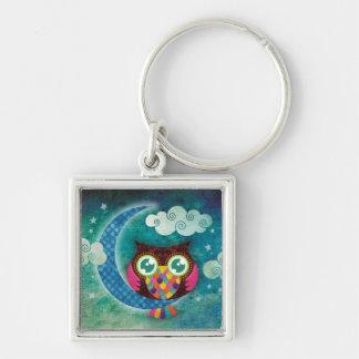 My Crescent Owl Premium Keychain