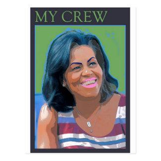 My Crew Postcard