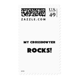 MY Crossbowyer ROCKS! Postage Stamps