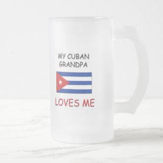My Cuban Grandpa Loves Me Mugs