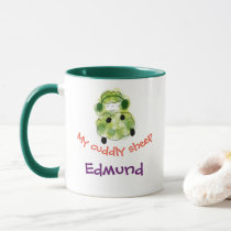 My cuddly sheep mug
