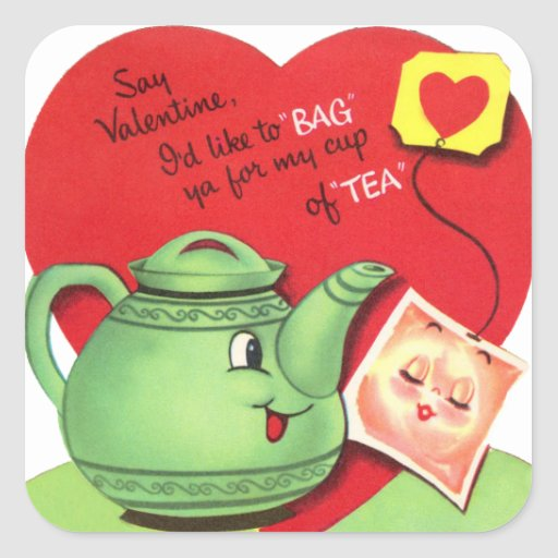 My Cup of Tea Square Sticker