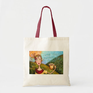 My Cup Runneth Over - Tote Tote Bags