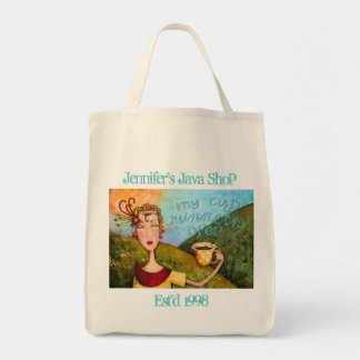 My Cup Runneth Over - Tote Canvas Bag