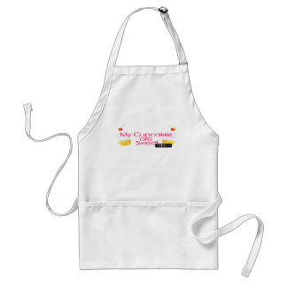 My cupakes are sweet apron