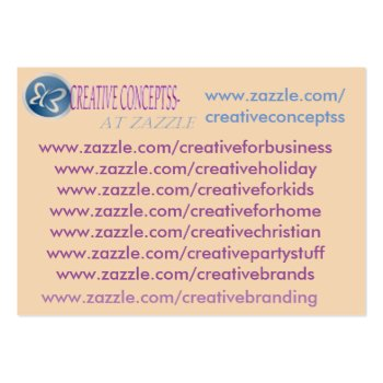 My Custom Zazzle Business Cards by CREATIVEforBUSINESS at Zazzle