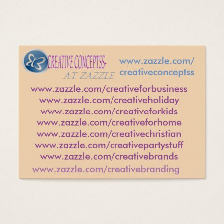 My Custom Zazzle Business Cards