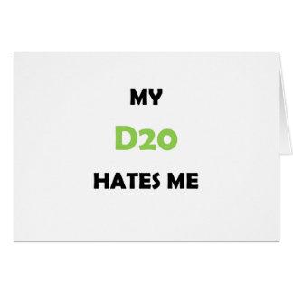 My D20 Hates Me Card