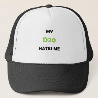 My D20 Hates Me Green 1B Trucker Hat