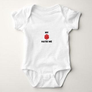My D20 Hates Me Red 2B Baby Bodysuit