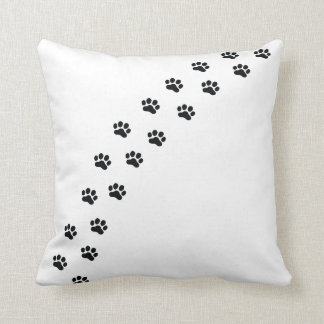 My Dachshund Walks All Over ME Throw Pillow