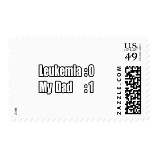 My Dad Beat Leukemia (Scoreboard) Stamp