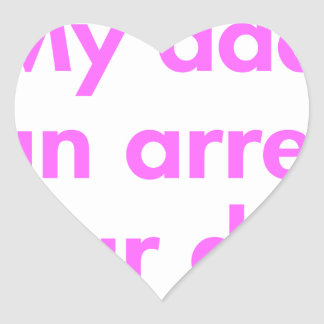 my-dad-can-arrest-your-dad-fut-pink.png heart sticker