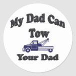 My Dad Can Tow Your Dad Stickers