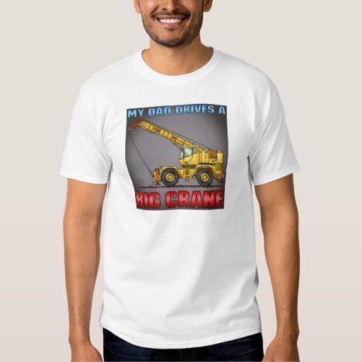 My Dad Drives A Big Crane Mens T-Shirt