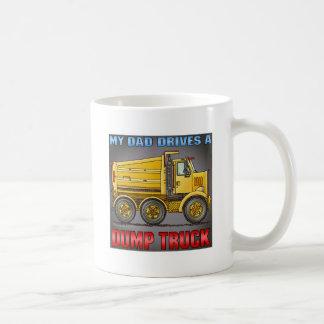 My Dad Drives A Highway Dump Truck Coffee Mug