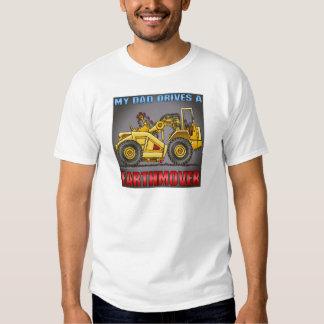 My Dad Drives An Earthmover Scraper Hat T-shirt