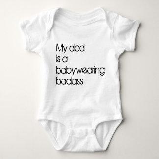 My Dad is a Babywearing Badass Baby Bodysuit