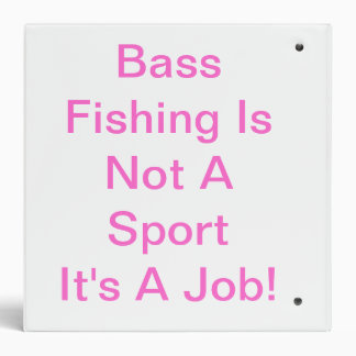 My Dad Is A  Bassmaster! Whats Yours A Pencil P... Binder